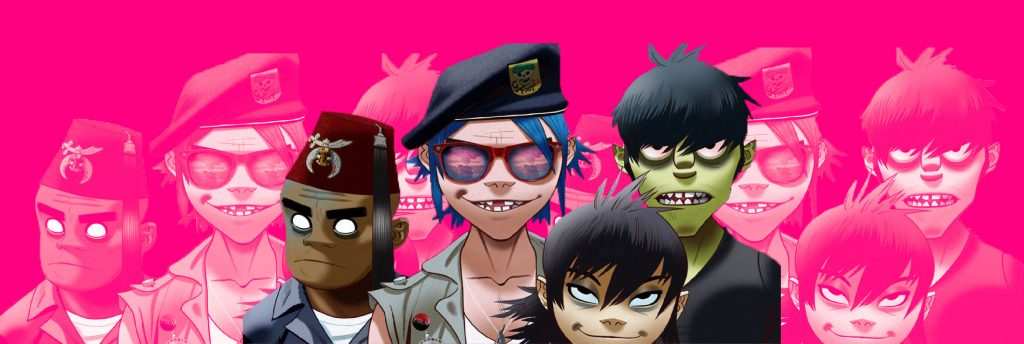 gorillaz text break