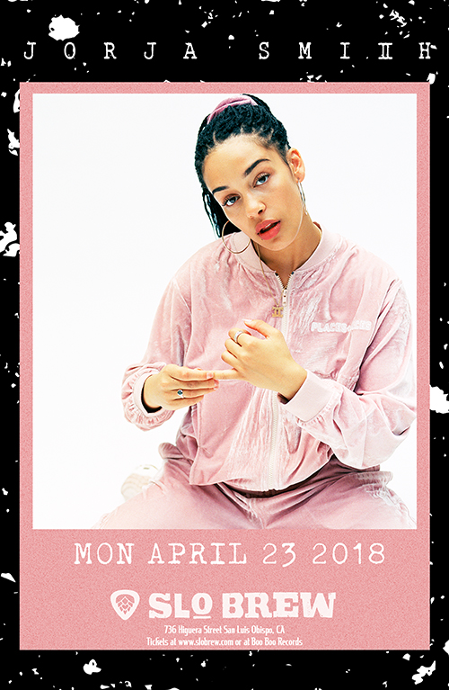 KCPR & SLO Brew are bringing British R&B artist - Jorja Smith - to the Central Coast on April 23rd.
